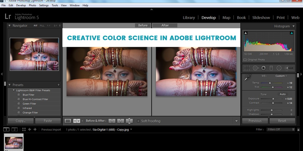 Creative Color science in Adobe Lightroom