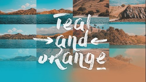 Orange Teal Lightroom Presets