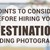 Points To Consider Before Hiring Your Destination Wedding Photographer
