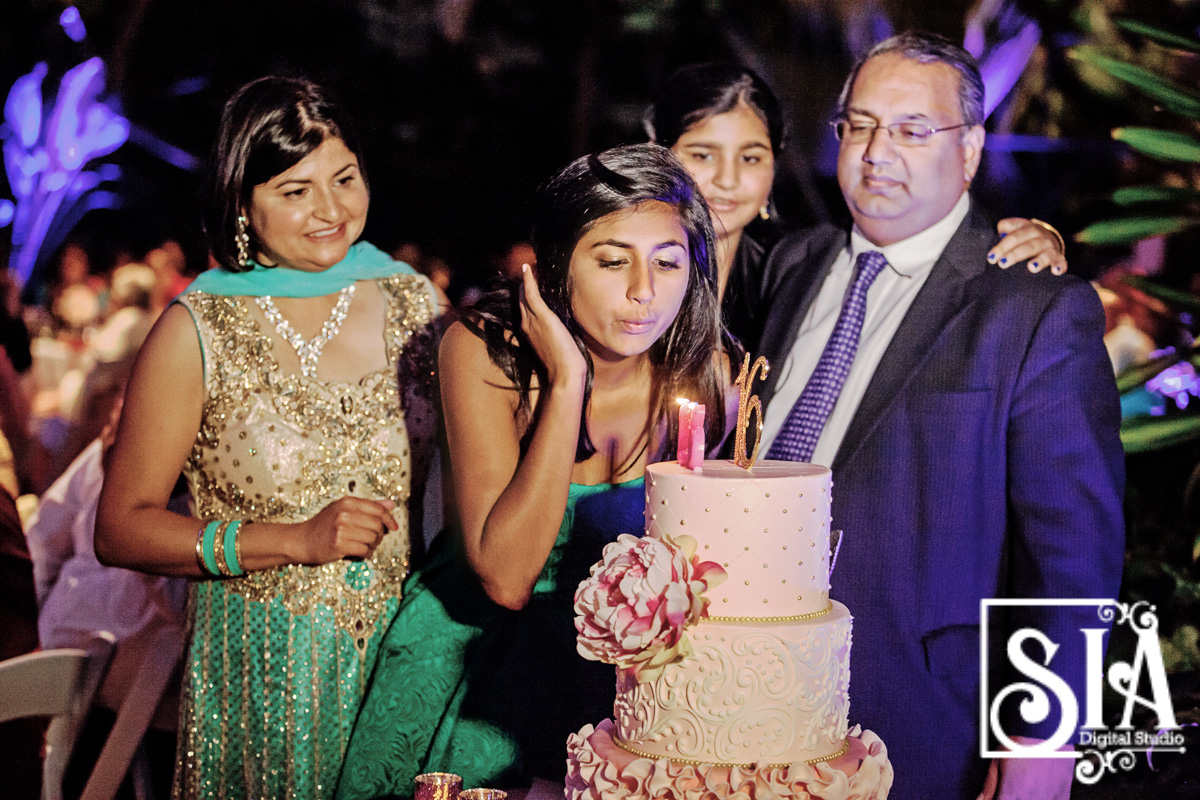 Anjali sweet 16 celebration