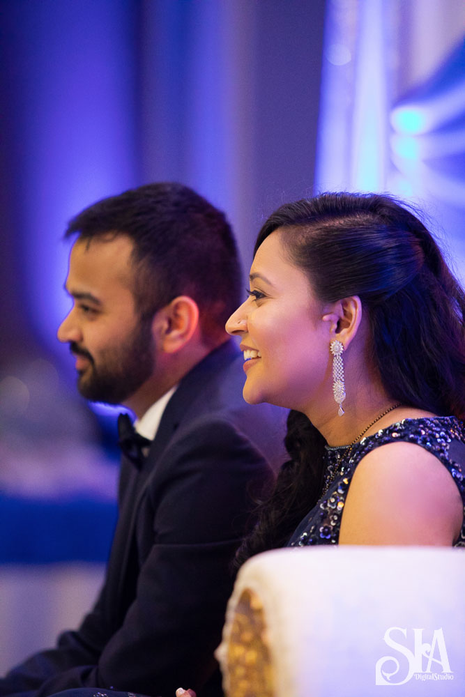 Aarshati & Jay || Elegant Reception Photoshoot at Doubletree Pittsburg